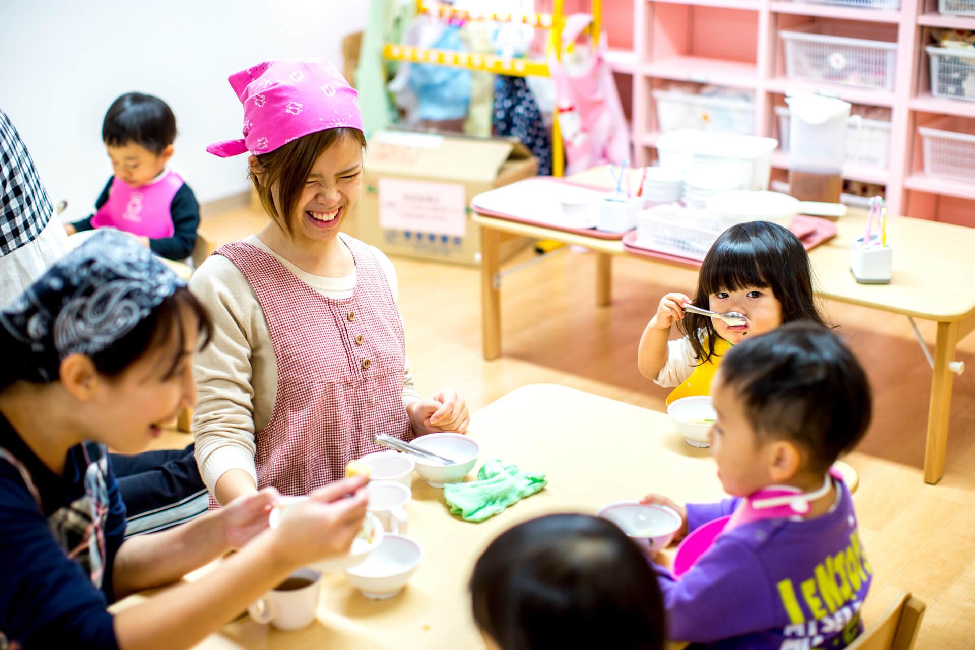 子どもたちと過ごす時間が長く、より信頼関係を築ける保育園に